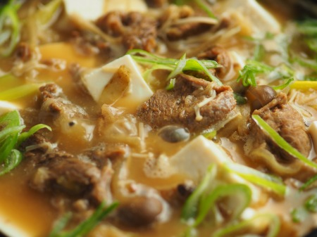 牛すじ豆腐鍋038