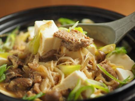 牛すじ豆腐鍋042