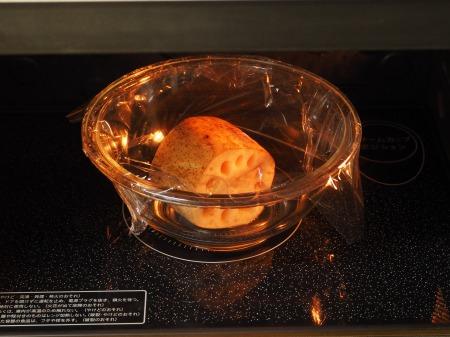 レンコンと豚バラの照り焼き018