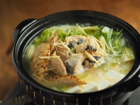鮭缶水炊き、チキンラーメン029