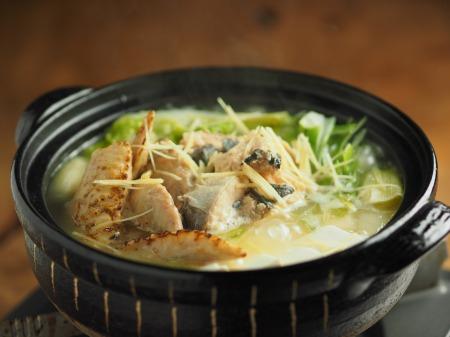 鮭缶水炊き、チキンラーメン025