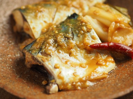 サバの味噌煮038