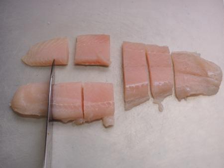 パンガシウスの蒲焼き丼045