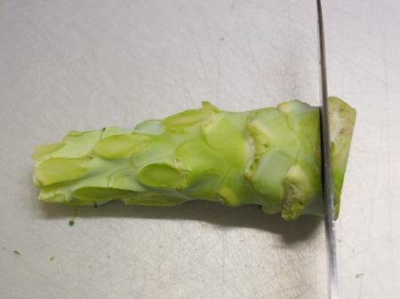 ブロッコリーの玉ねぎソース炒め037