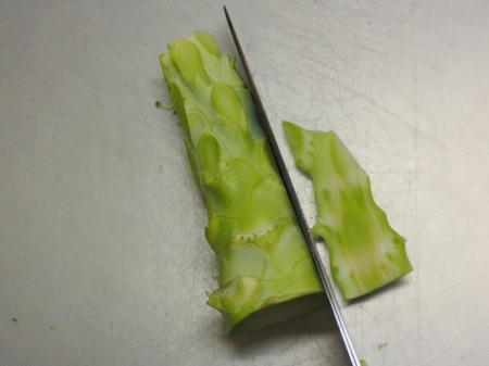 ブロッコリーの玉ねぎソース炒め040