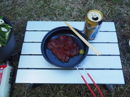 マグロ漬けキャンプ007