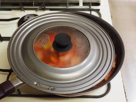 ミートボールのトマト煮042