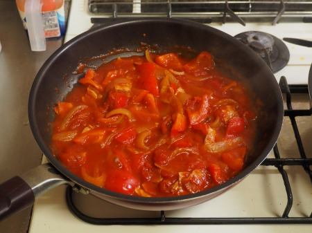 ミートボールのトマト煮044