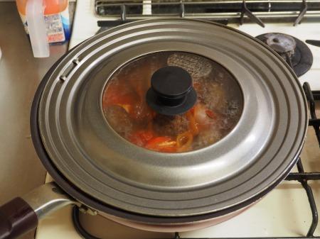 ミートボールのトマト煮050