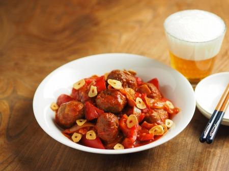 ミートボールのトマト煮003