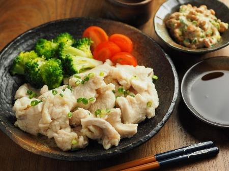 鶏むね水晶の梅味噌納豆添017