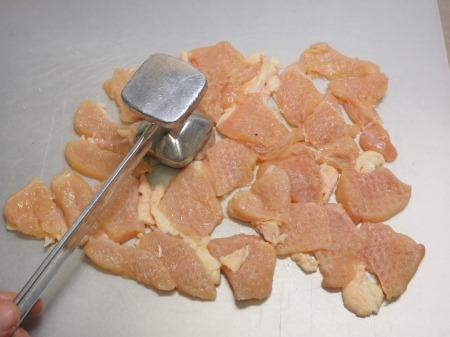 鶏むね水晶の梅味噌納豆添032