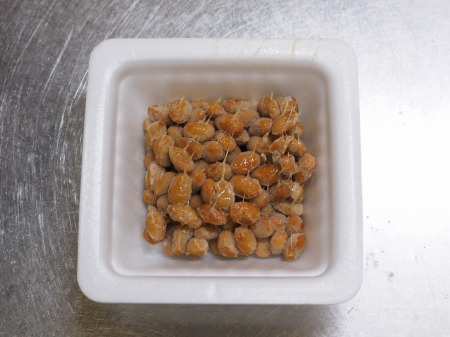 鶏むね水晶の梅味噌納豆添039