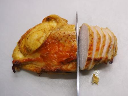 鶏むね肉のカレーマヨ焼き054