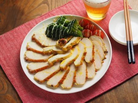 鶏むね肉のカレーマヨ焼き014