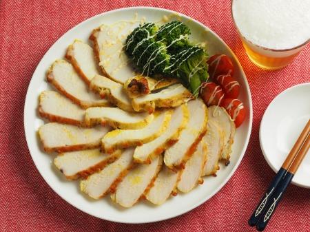 鶏むね肉のカレーマヨ焼き028