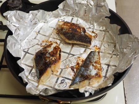 鰆の味噌漬け焼き054
