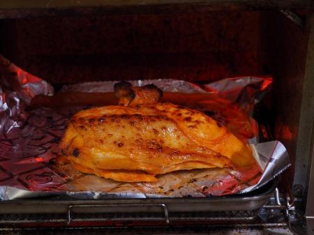 鶏むね肉のオーロラソース焼き035