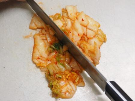 アジたたきのキムチ納豆和え032