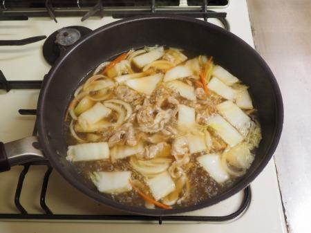 野菜たっぷり、白菜ちゃんぽん045
