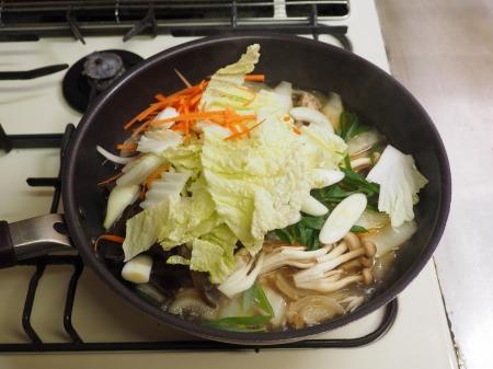 野菜たっぷり、白菜ちゃんぽん049