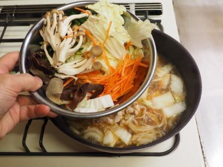 野菜たっぷり、白菜ちゃんぽん048