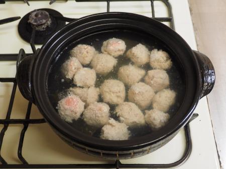 ゆず団子湯豆腐鍋038