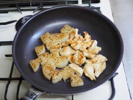 鶏むね肉と大根の一口ステー062
