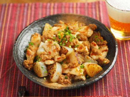 鶏むね肉と大根の一口ステー019