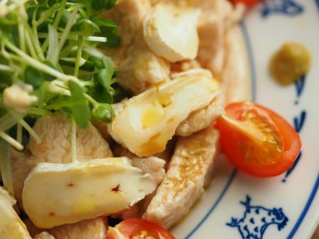 水晶鶏とカマンベールチーズの015