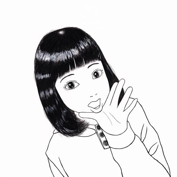 まりのスケッチ 《ハッピーニューイヤー!》