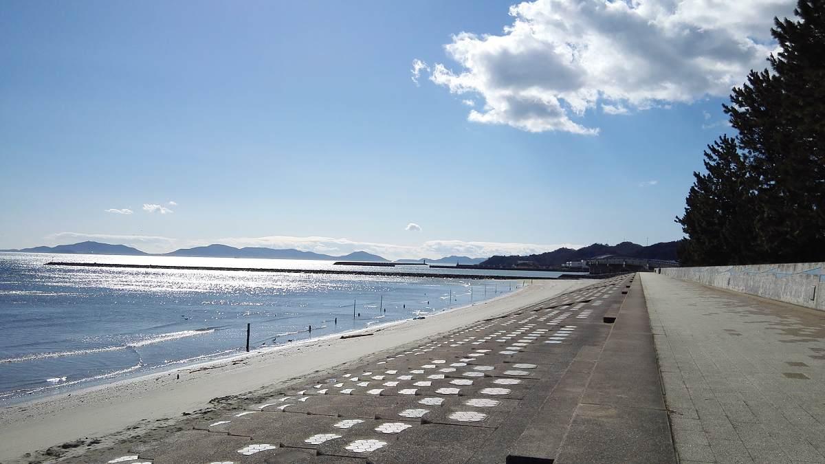 春日浦形原海岸