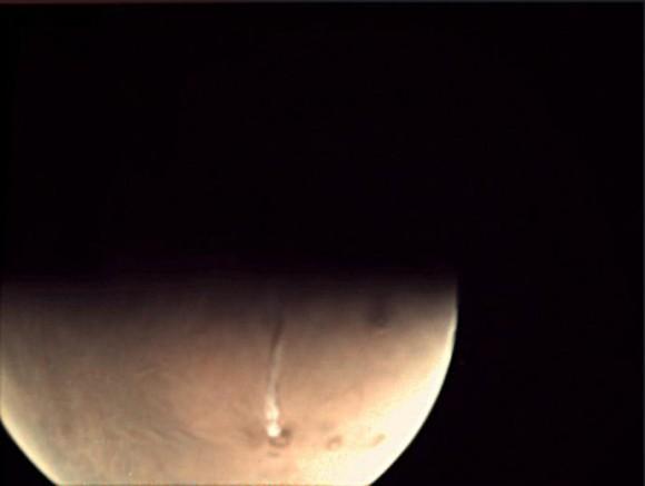 宇宙への旅人 火星の火山が噴火...