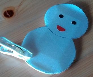 トレイの雪だるま 遊び方2