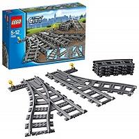 LEGO シティ ポイントレール 7895