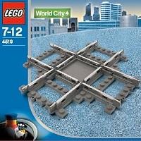 LEGO 9V Train Rail Crossing 4519