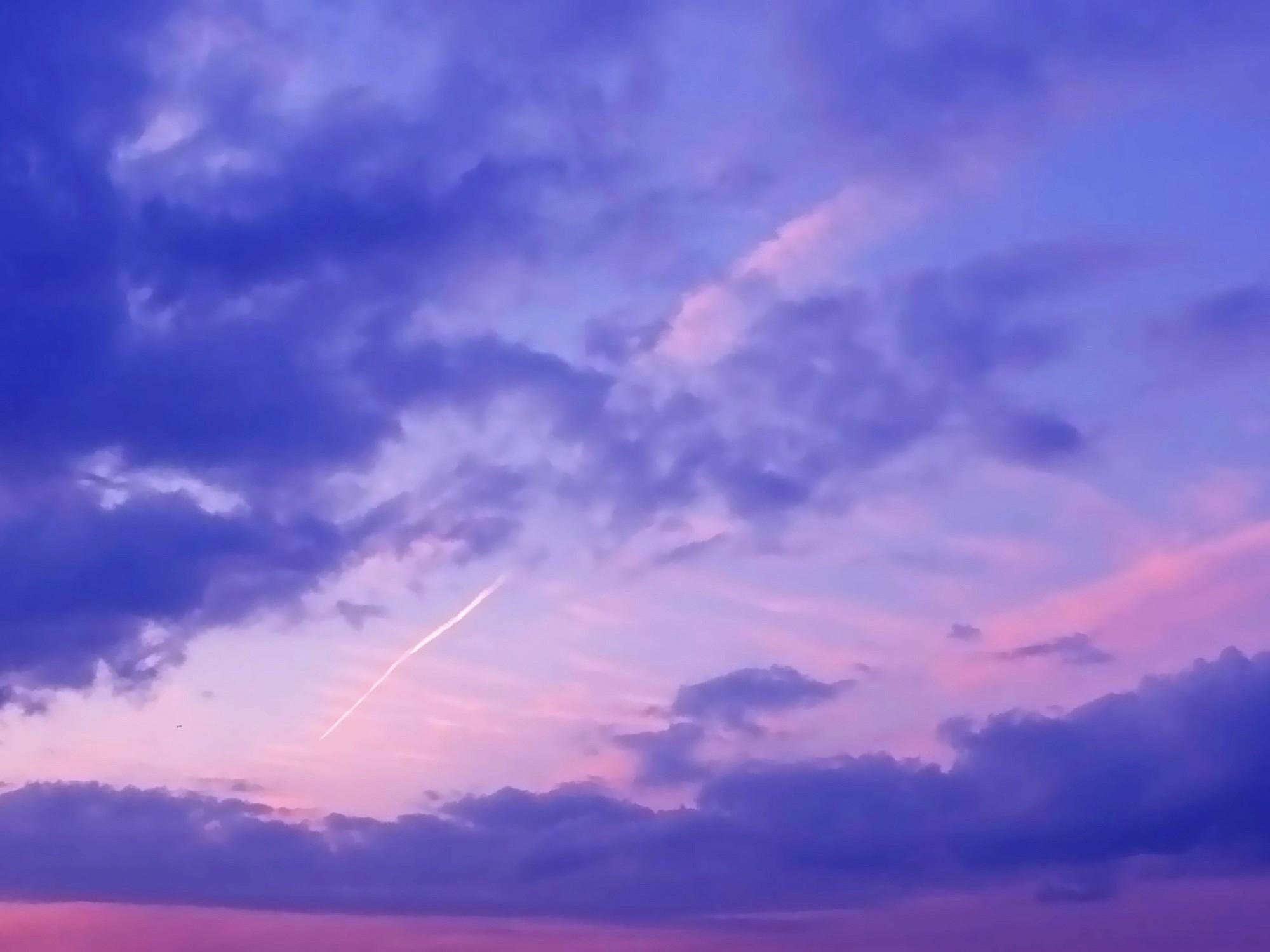 フリー写真 天空