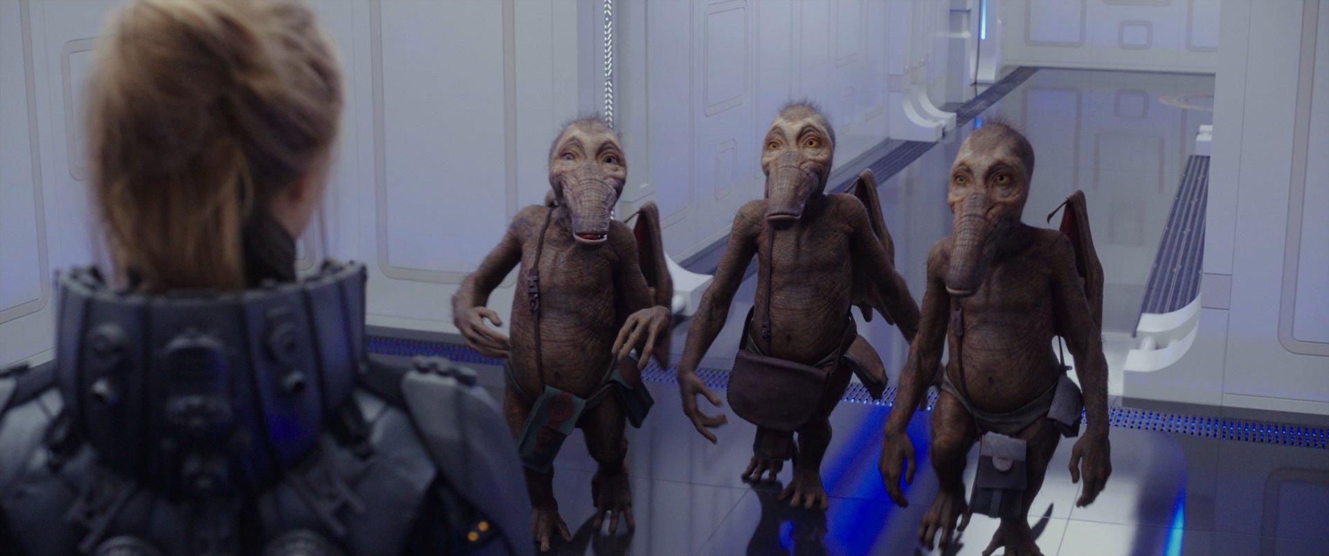 『ヴァレリアン』3宇宙人