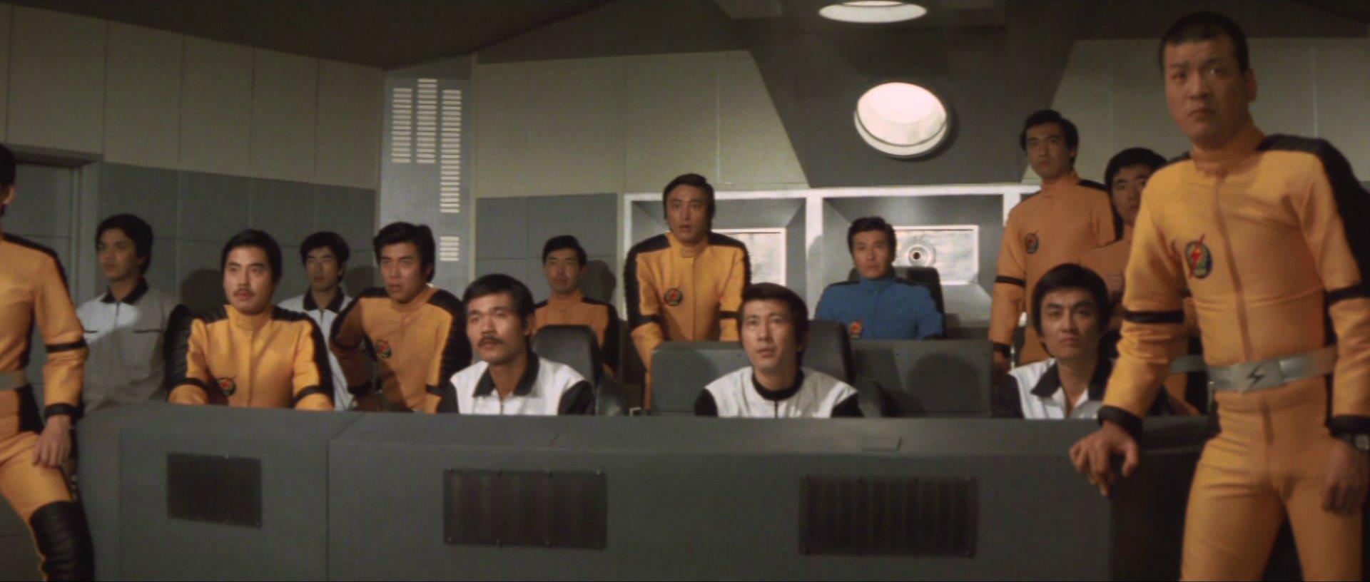 『惑星大戦争』『スタートレック』風艦橋