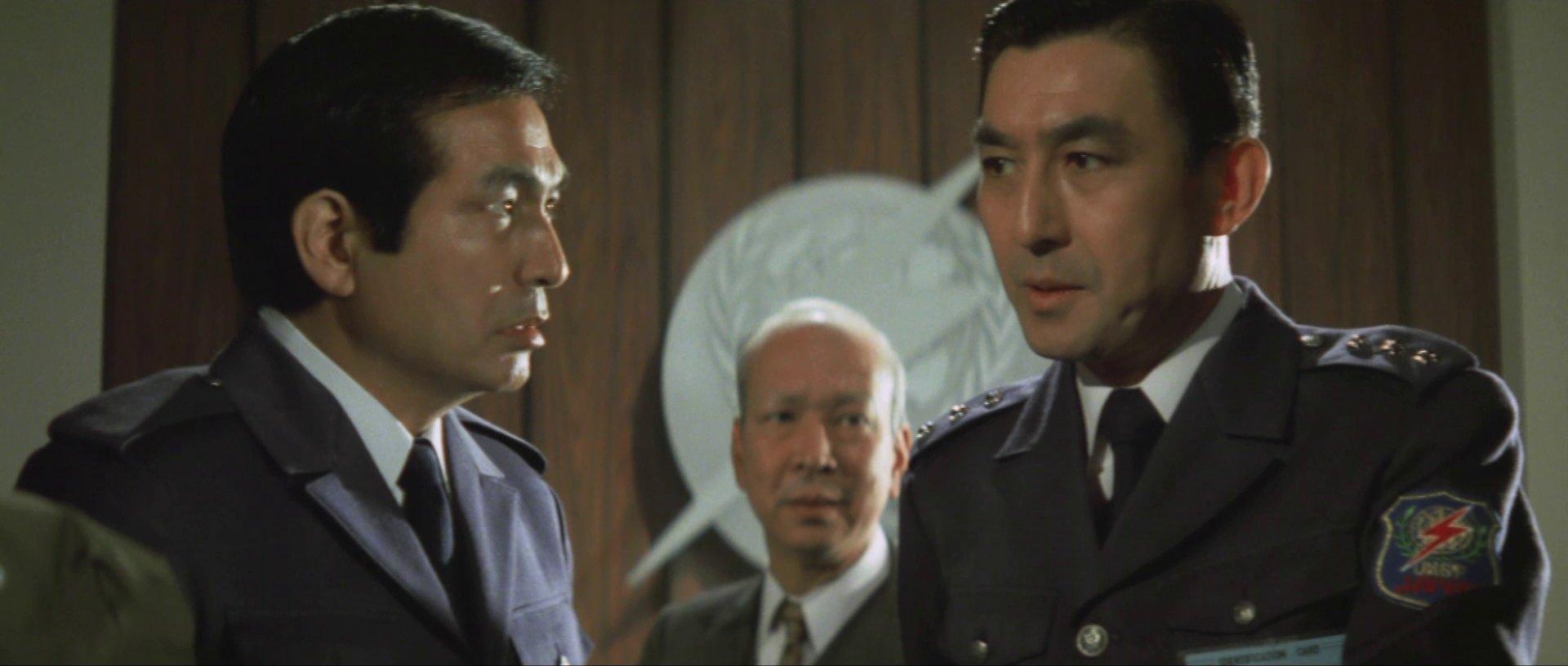 『惑星大戦争』キリヤマ隊長と芹沢博士