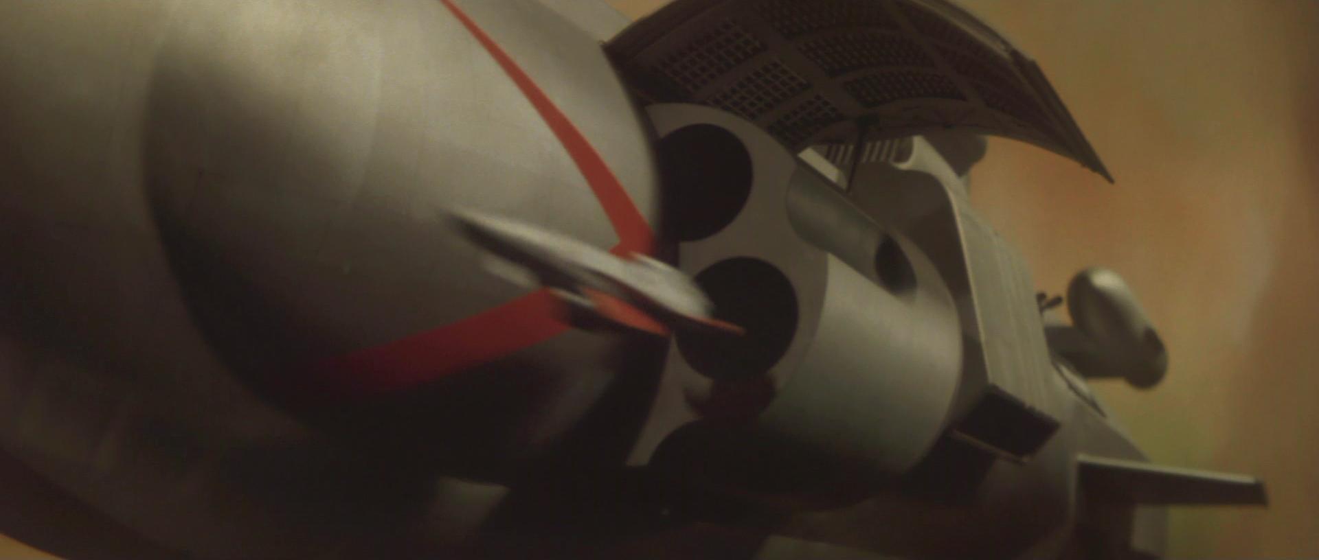 『惑星大戦争』リボルバー式発艦