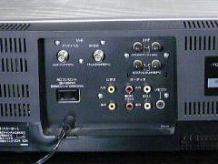 HR-7650 背面端子部