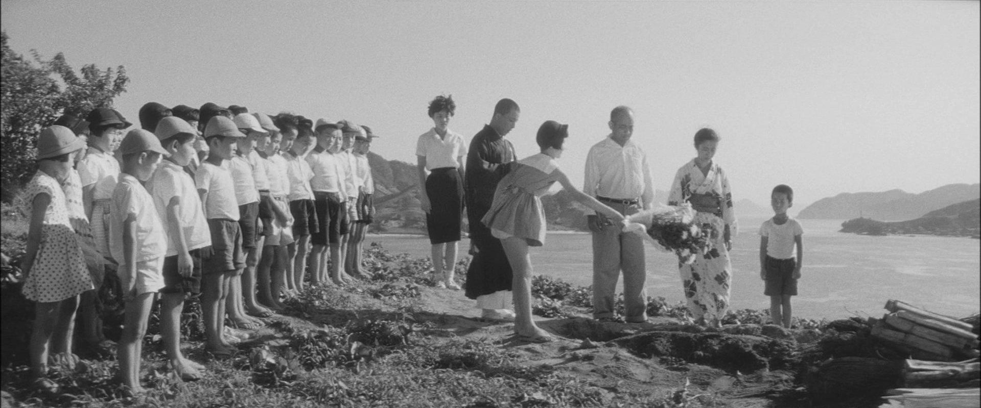 『裸の島』葬式
