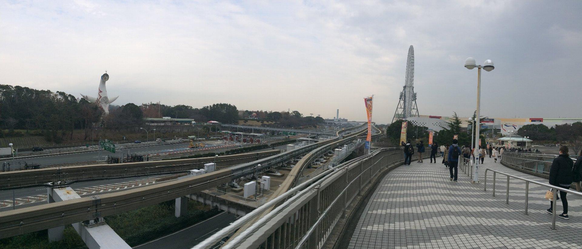20181220_00 エキスポ・シティ到着
