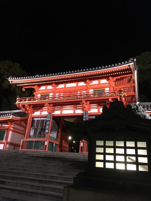 夜の八坂神社