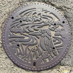 和泉市マンホールの蓋blog02