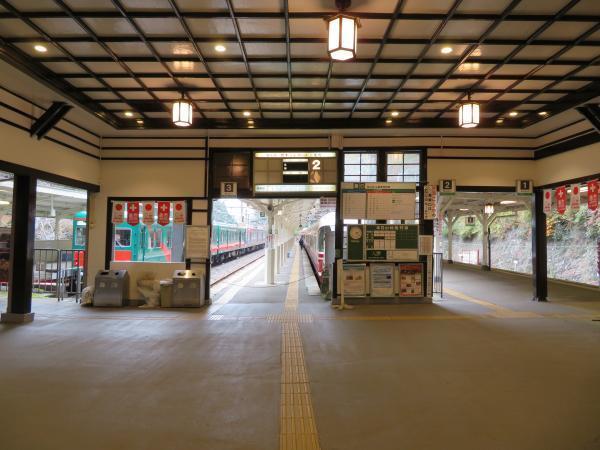 極楽橋駅3