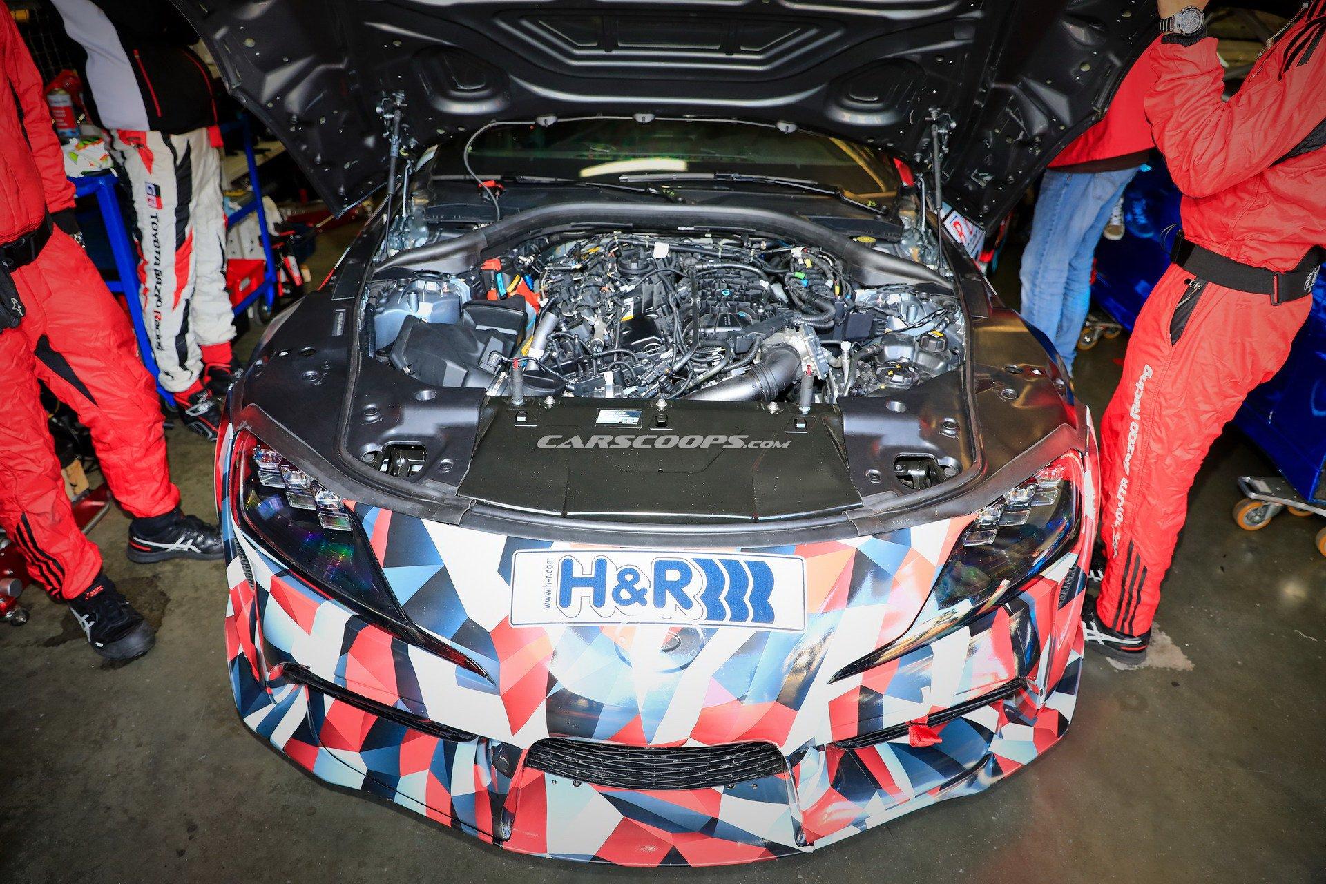 toyota supra engine