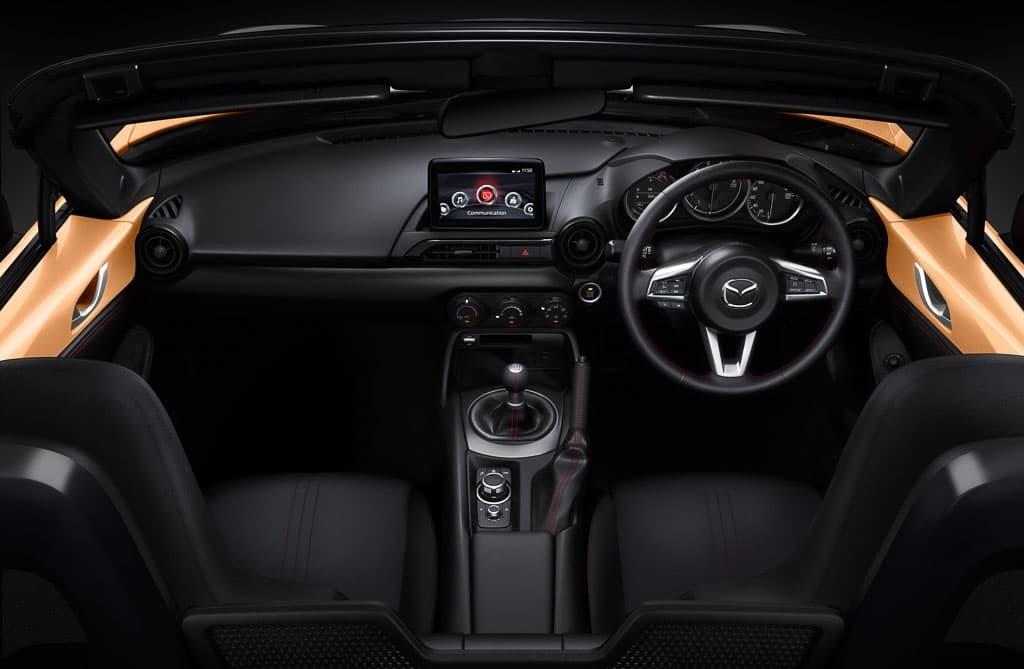 MX-5 30th interior