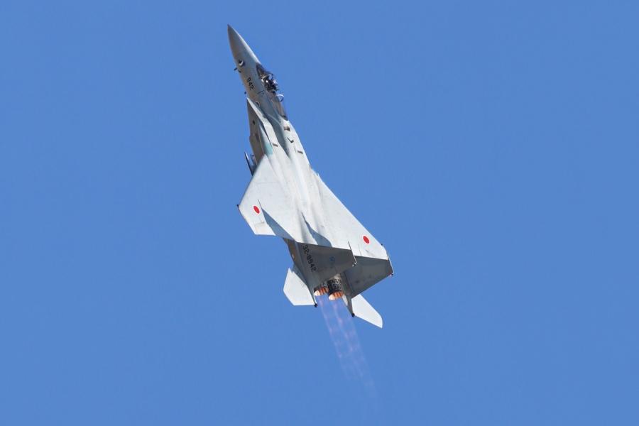 2018-11-18F-15イーグル戦闘機アフターバーナー269A7533